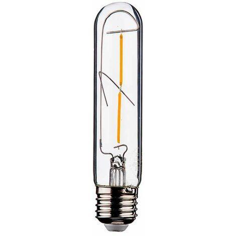 Bombilla LED E27 filamento tubular Gold Cover T30 2200K 2W