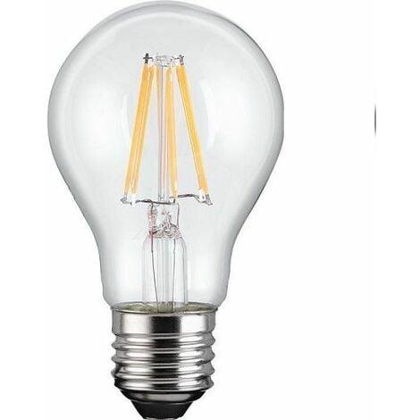 Bombilla LED E27 filamentos luz calida 7W