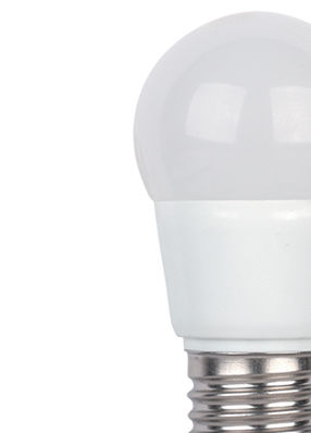 Bombilla LED E27 G45 5W 4000K° ELMARK