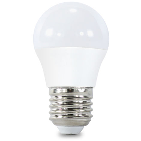 Bombilla LED E27 G45 7W Blanco Frío 6000K | IluminaShop