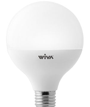 Bombilla LED E27 G95 15W 3000K° Wiva