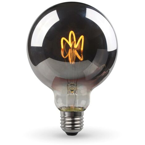 Bombilla LED E27 G95 Smoky Vintage Deco Filamento