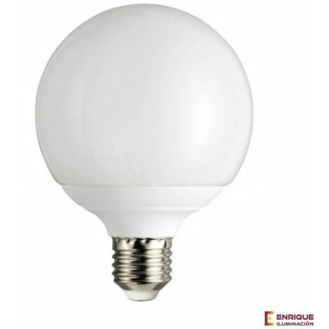 Bombilla led E27 globo ópalo blanco 18w 4000k luz neutra - 0