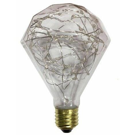 Bombilla LED E27 Guirnalda Prisma (1.5W)