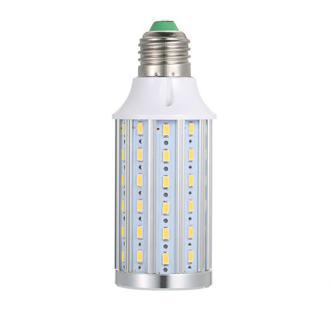 bombilla led, E27, lampara de ahorro de energia 5730, luz LED de maiz, blanco calido, 72 cuentas, 20W