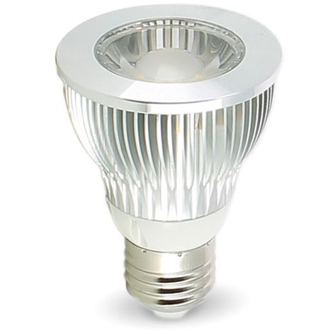 Bombilla LED E27 PAR20 7W | Temperatura de color: 4000K blanco neutro