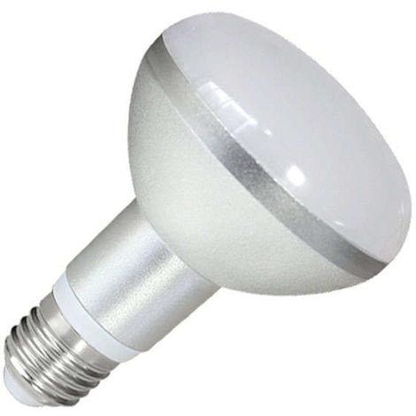 Bombilla LED E27, R80, 9W, Blanco frío