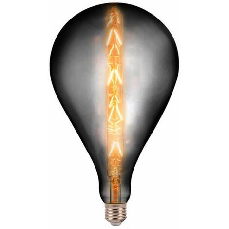 Bombilla LED E27 Regulable Filament Smoky Grey G165 8W 300° 2200K