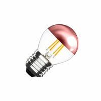 Bombilla LED E27 Regulable Filamento Copper Reflect Small Classic G45 3.5W Blanco Cálido 2000K-2500K