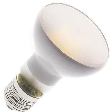 Bombilla LED E27 Casquillo Gordo Regulable Filamento R63 Frost 4W