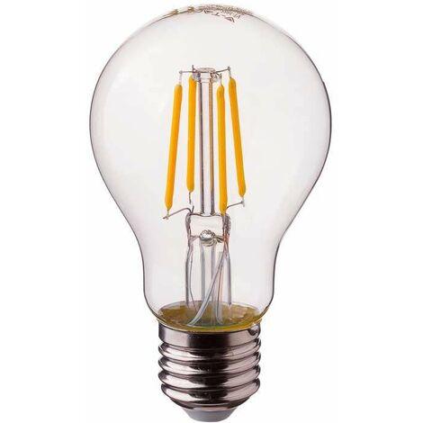 Bombilla LED E27 Samsung Filamento A60 2700K 6W - V-TAC PRO
