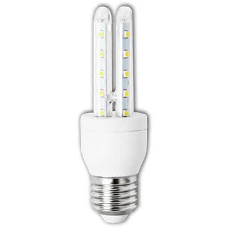 Bombilla LED E27 T3 2U 6W | Blanc chaud