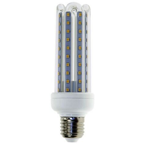 Bombilla LED E27 T3 4U 15W | Blanco cálido 3000K