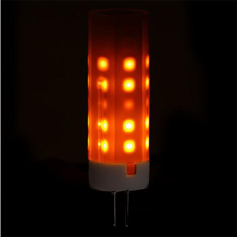 Bombilla LED Efecto Llama G4 2W 25000H (CA-EL-G4-2W)