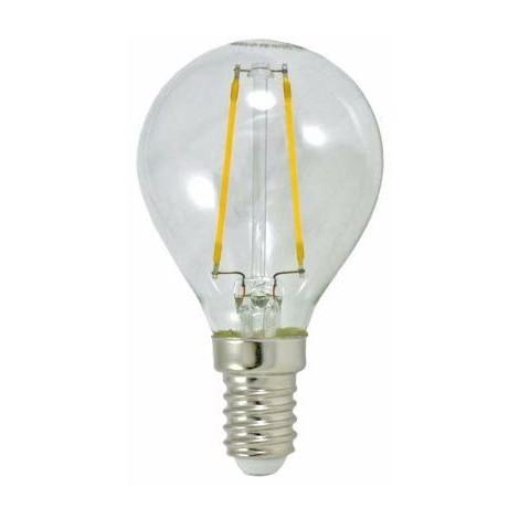 Bombilla LED Esfera Clara (3.5W-E14)