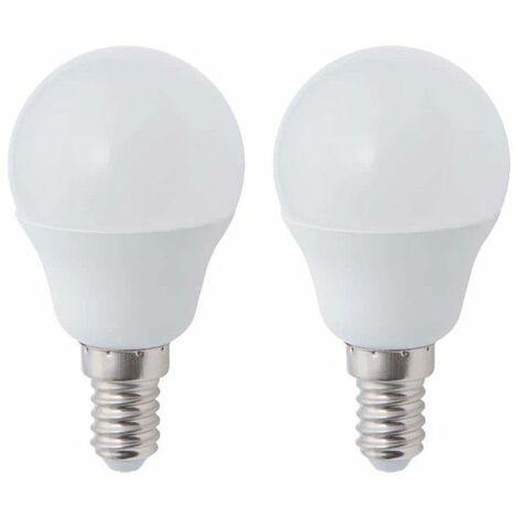 Bombilla LED Esfera XXCELL - E14 equivalente 40W x2