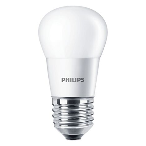 Bombilla LED esférica 4W E27 827 CorePro PHILIPS