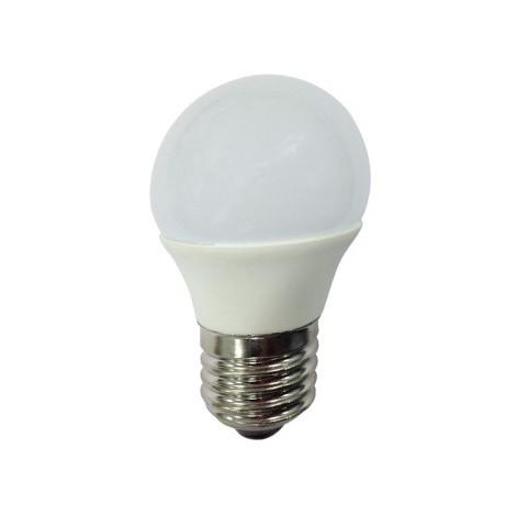 Bombilla led esférica 6W E27 (Luz neutra)
