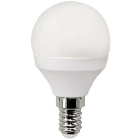 Bombilla Led Esférica E-14. 6W. 640Lm. Wonderlamp | 3000ºK (blanco cálido)