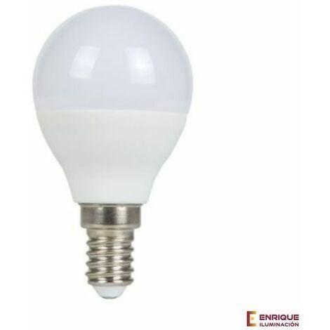Bombilla led esférica E14 5W 3000k luz calida - 0