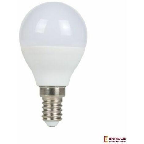 Bombilla led esferica E14 5W 6000K Luz blanca - 0