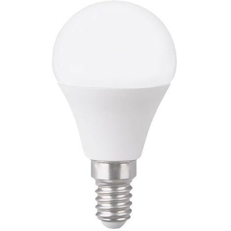 Bombilla LED Esférica E14 6W Equi.40W 470lm 15000H dd