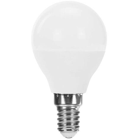 Bombilla LED Esférica E14 7,4W Equi.60W 806lm 15000H Raydan Home