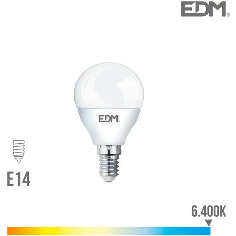 Bombilla Led Esferica E14 7W 600 Lumens 6.400K Luz Fria - NEOFERR
