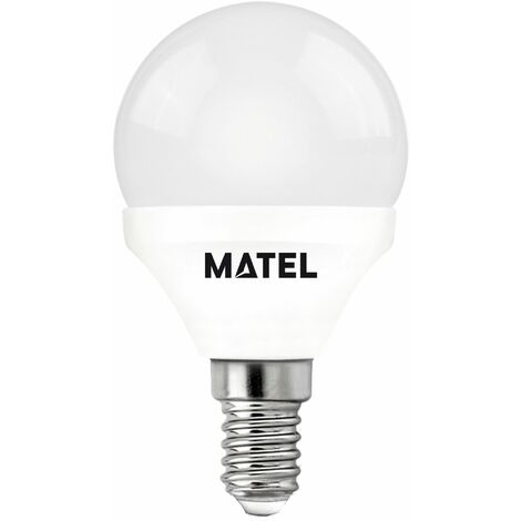 BOMBILLA LED ESFERICA E14 7WATIOS CALIDA 23194