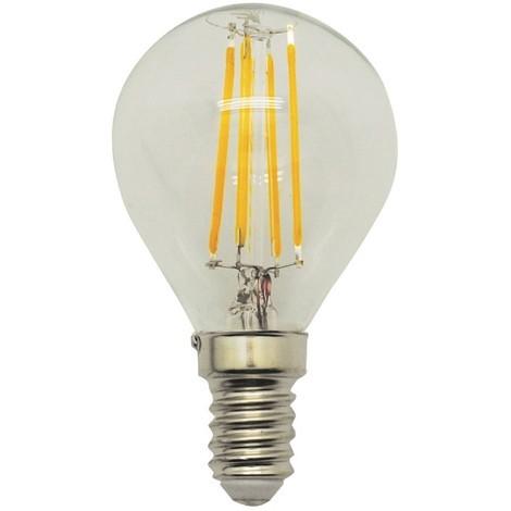 Bombilla LED Esférica E14 Mate (4W)