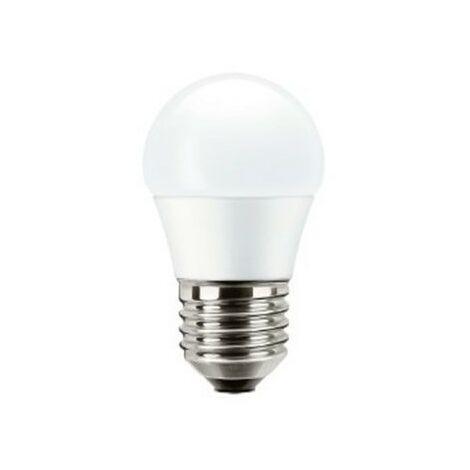 Bombilla led esférica E27 5,5W luz natural 840 Mazda
