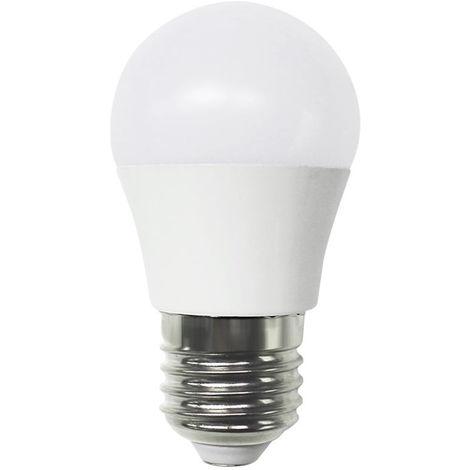Bombilla LED Esférica E27 6W Equi.40W 470lm 15000H Temperatura - 5200K