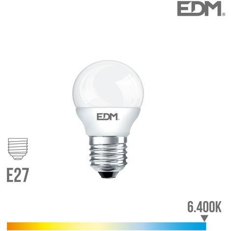 Bombilla Led Esferica E27 7W 600 Lumens 6.400K Luz Fria - NEOFERR