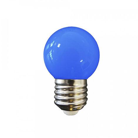 Bombilla Led Esferica Mate E27 1.5W 200 Lumens Azul - NEOFERR