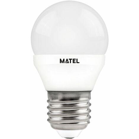 Bombilla LED esférica regulable E27 7w neutra 680lm