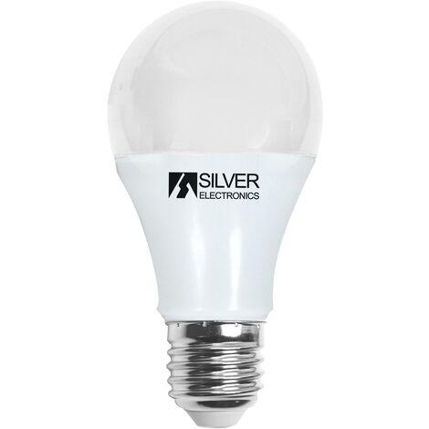 Bombilla LED Esférica Silver Electronics 980927 E27 10W Luz cálida