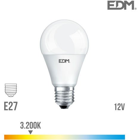 Bombilla led estándar 10W 12V EDM -Disponible en varias versiones