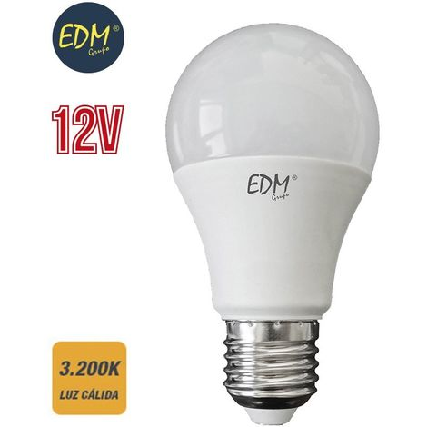 Bombilla led estándar 10W 12V EDM -Disponible en varias versiones