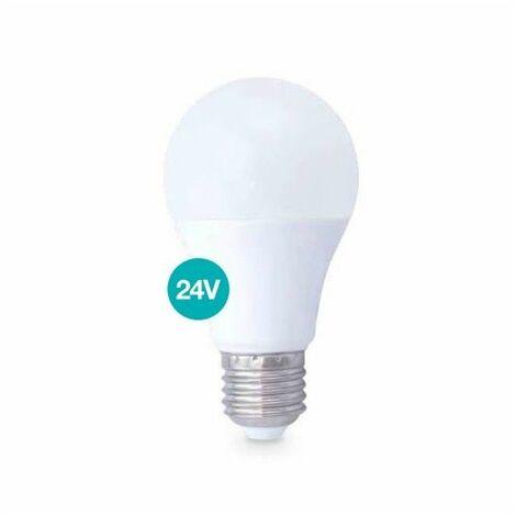 Bombilla LED estandar 10W E27 3000K 24V 806lm