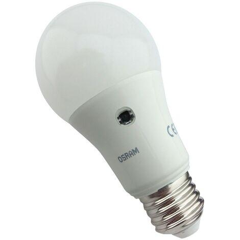 Bombilla led estándar 9.5W E27 con sensor crepuscular Osram