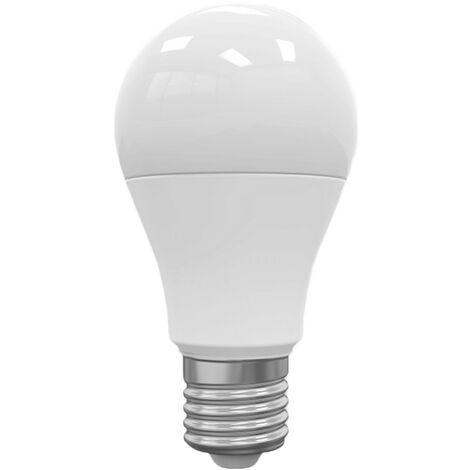 Bombilla LED Estándar E27 9W Equi.60W 806lm Regulable 3000K 25000H 7hDayron