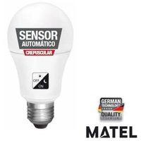 Bombilla Led Estandar Sensor Crepuscular 10W E27 1000Lm Matel