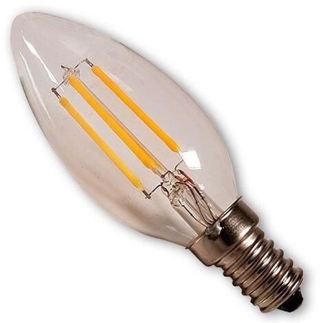 bombilla led filamento 4w vela e14