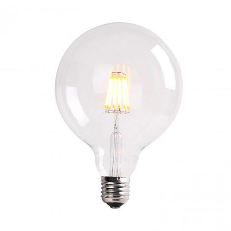 Bombilla LED Filamento 7W G95 cristal transparente 2700k