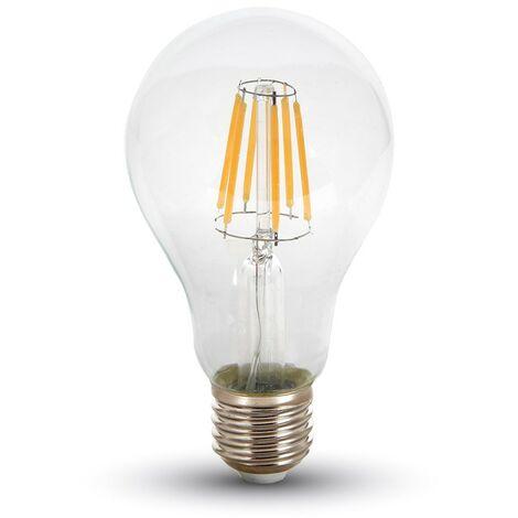 Bombilla led filamento A67 E27 8W 300°