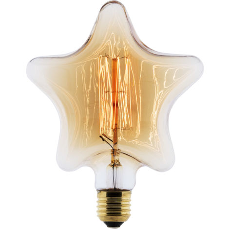 Bombilla LED Filamento Deco carbón Star E27 25W - Elexity