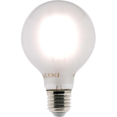 Bombilla LED Filamento Deco Globo 6W E27 580lm 2700K (blanco cálido)