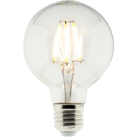 Bombilla LED Filamento Deco Globo 6W E27 810lm 2700K (blanco cálido)