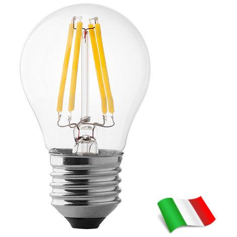 Bombilla LED Filamento E27 G45 4W 4000K° Wiva