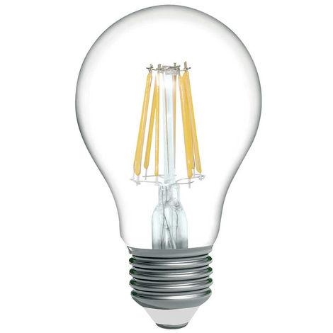 E27 Estándar 8W 15000h Equi Bombilla LED 60W Filamento 806lm I76ybgvYf